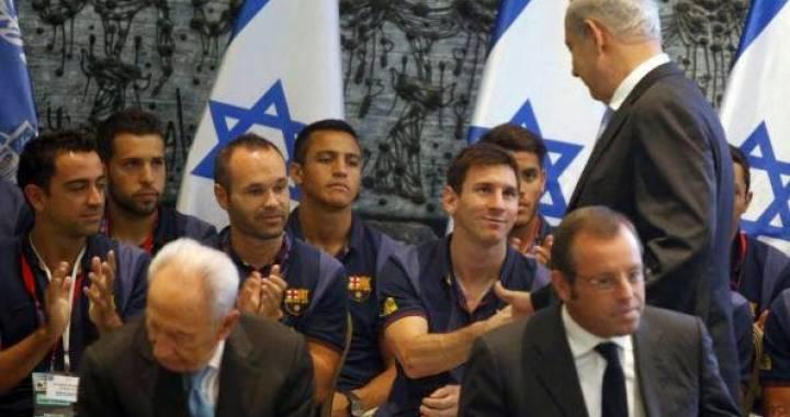 5a079c94bd4978f3232670b809f06664 ليونال ميسي يتبرع بمليون دولار ﻹسرائيل... والحرب على غزة مستمرة!
