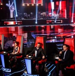 MBC1 & MBC MASR the Voice S3 - Live 1 - Press conference - coaches & Mazen Hayek