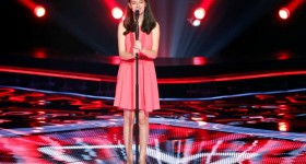 MBC1 & MBC MASR- the Voice Kids- Blind 6- Kadim's team- Laila Abou Hamdan (1)